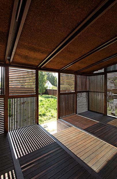 Загородный дом. веранда лоджия из проекта , фото №36689