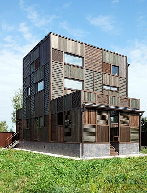 Загородный дом. фасад из проекта , фото №36681