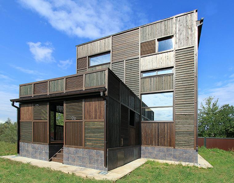 Загородный дом. фасад из проекта , фото №36683