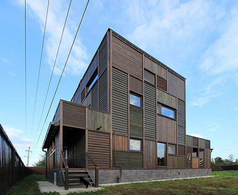 Загородный дом. фасад из проекта , фото №36684