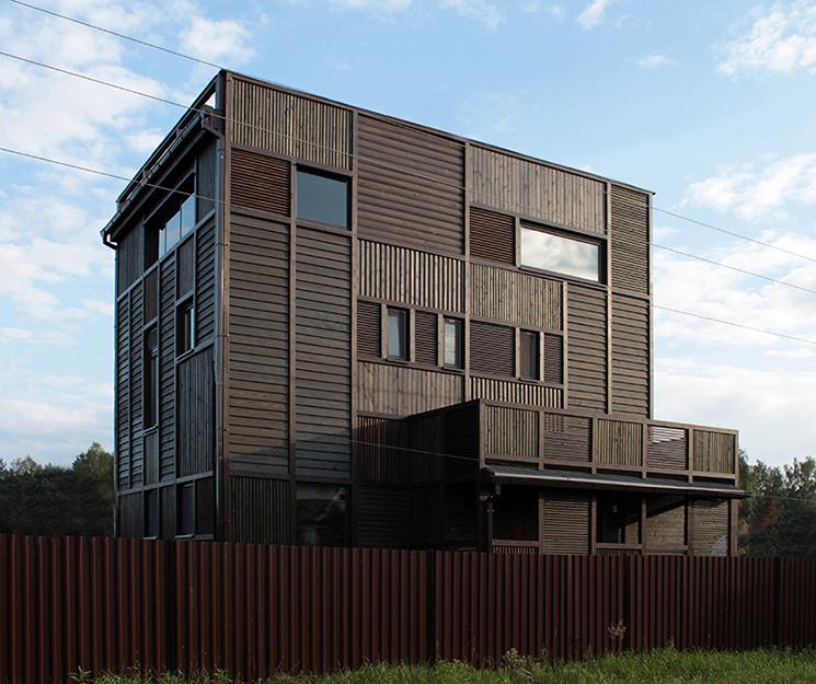 Загородный дом. фасад из проекта , фото №36685