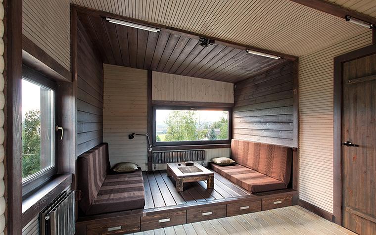 Загородный дом. кабинет из проекта , фото №36692