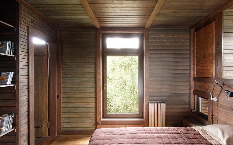 Загородный дом. спальня из проекта , фото №36697