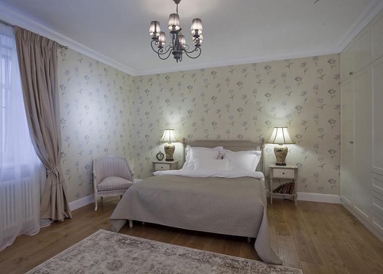 Фото № 36751 спальня  Загородный дом