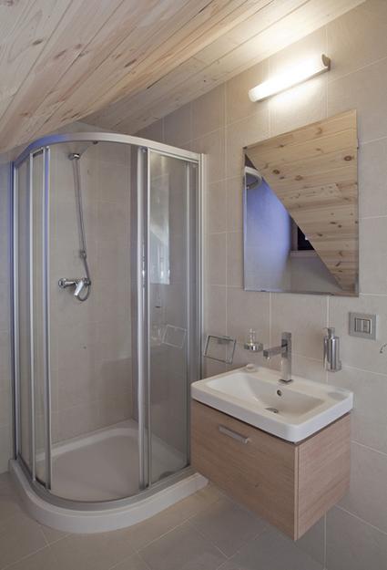 Загородный дом. ванная из проекта , фото №36778