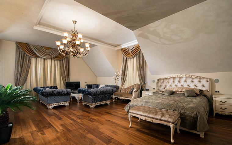 Загородный дом. спальня из проекта , фото №37104