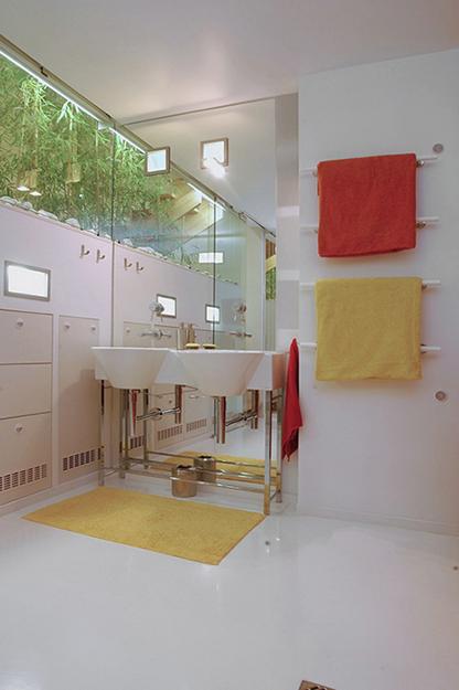Загородный дом. ванная из проекта , фото №37263