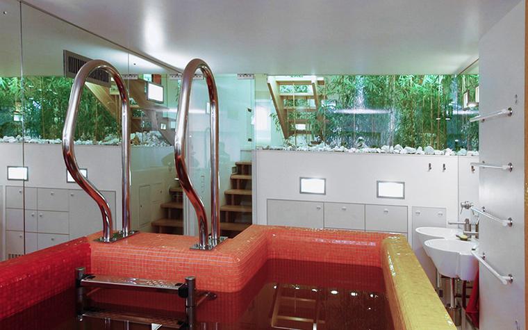 Загородный дом. ванная из проекта , фото №37266