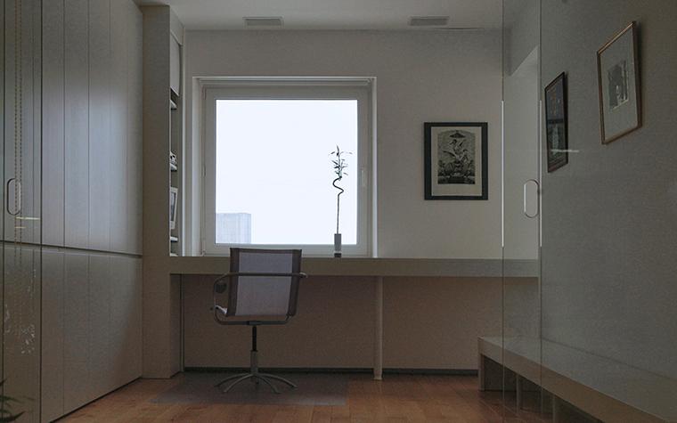 Загородный дом. кабинет из проекта , фото №37258