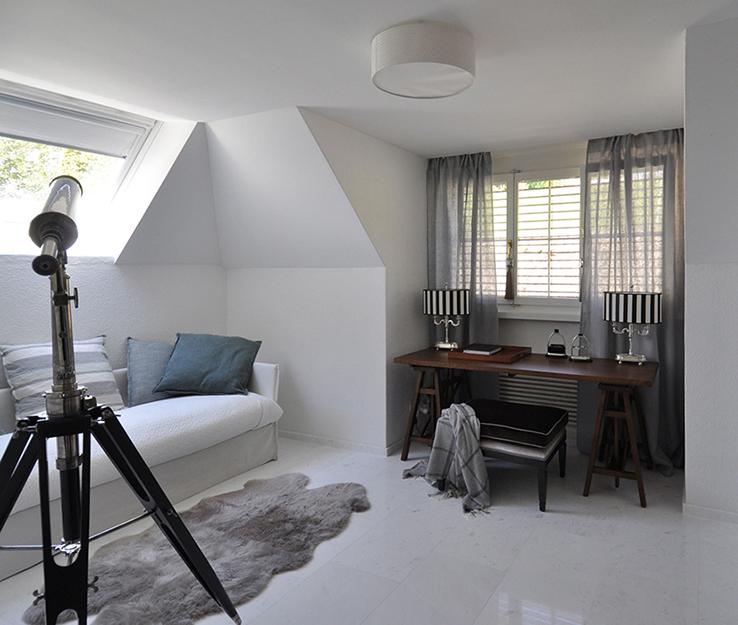 Загородный дом. кабинет из проекта , фото №37591