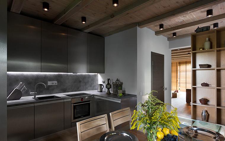 Фото № 37754 кухня  Загородный дом
