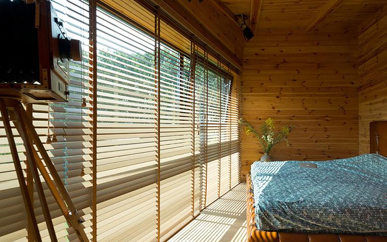 Фото № 37738 спальня  Загородный дом