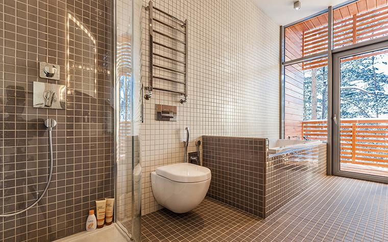 Загородный дом. ванная из проекта , фото №37868