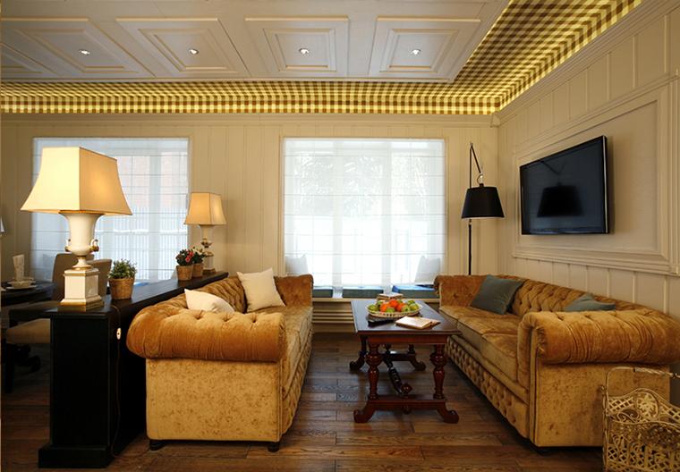 интерьер гостиной - фото № 37991