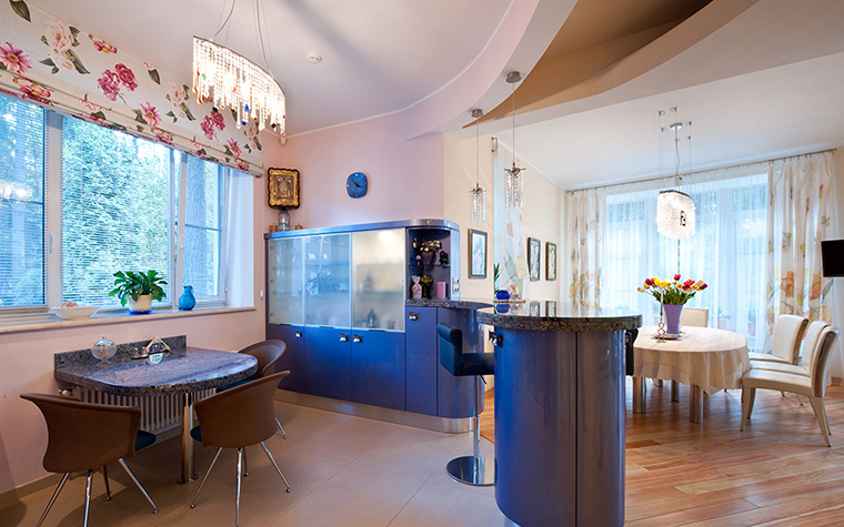 Фото № 39357 кухня  Загородный дом