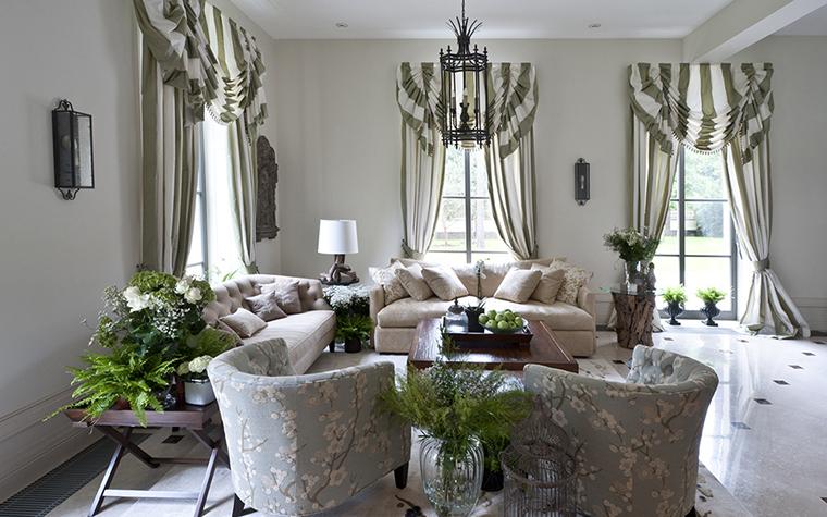 Декоративный текстиль в интерьере