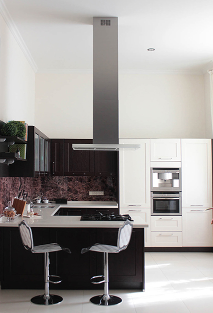 Фото № 38243 кухня  Загородный дом