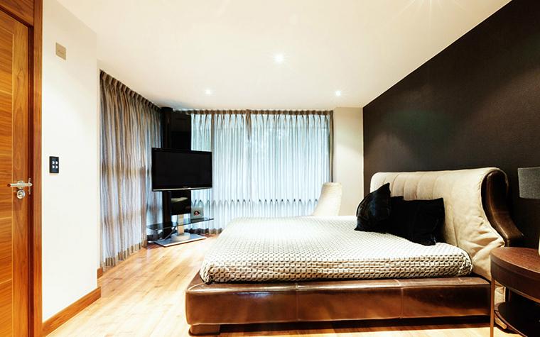 Фото № 38918 спальня  Загородный дом