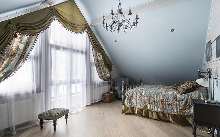 Фото № 39235 спальня  Загородный дом