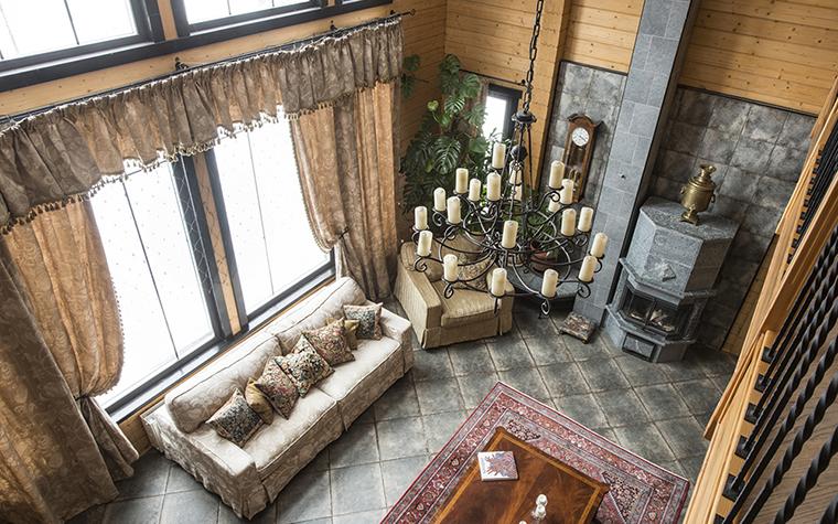 Фото № 39230 гостиная  Загородный дом