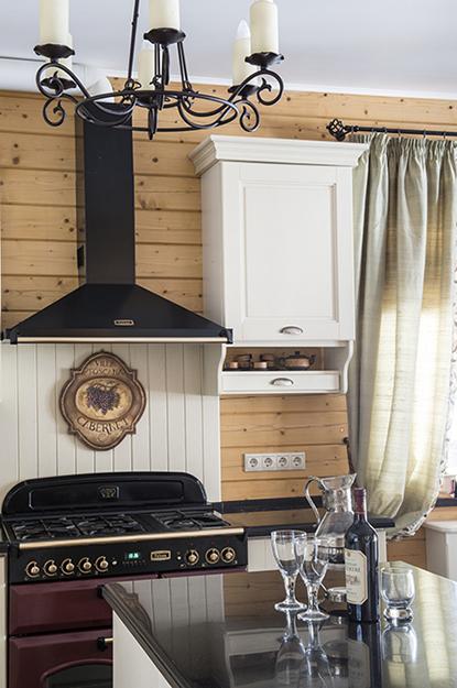 Фото № 39231 кухня  Загородный дом