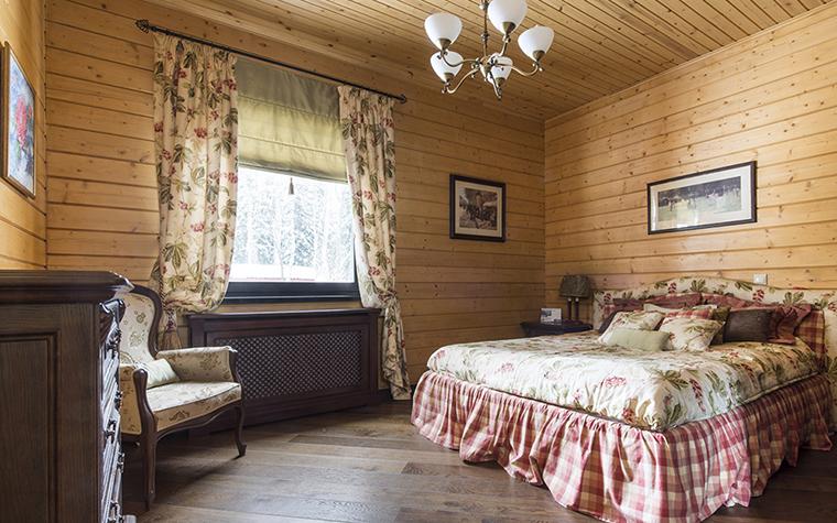 Фото № 39234 спальня  Загородный дом