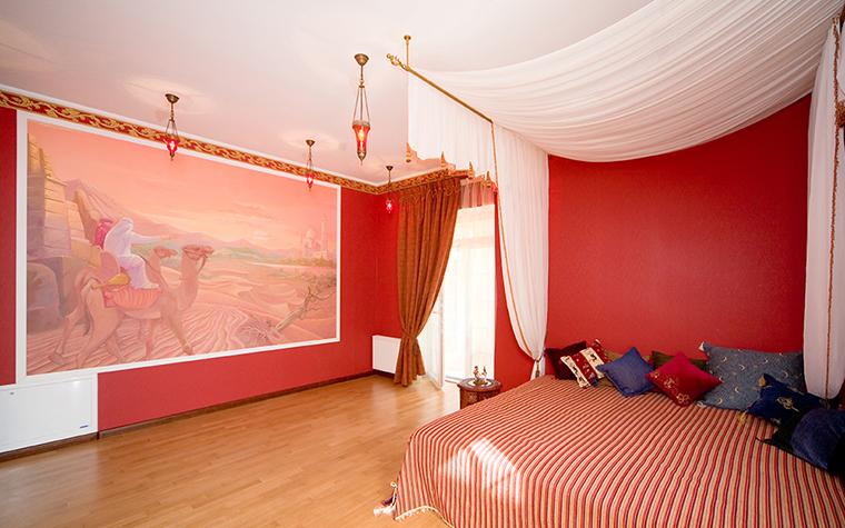 интерьер спальни - фото № 39497