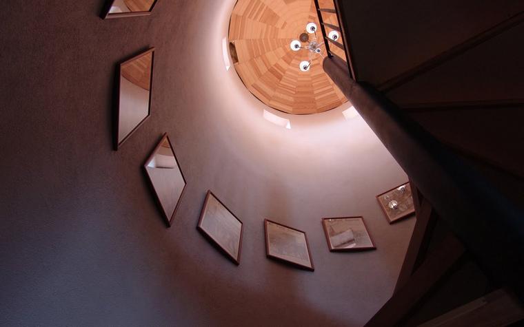 Загородный дом. холл из проекта , фото №39690