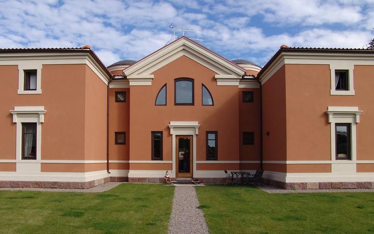 Загородный дом. фасад из проекта , фото №39684
