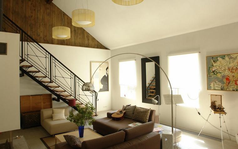 интерьер гостиной - фото № 39706
