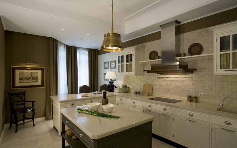 Фото № 40060 кухня  Загородный дом