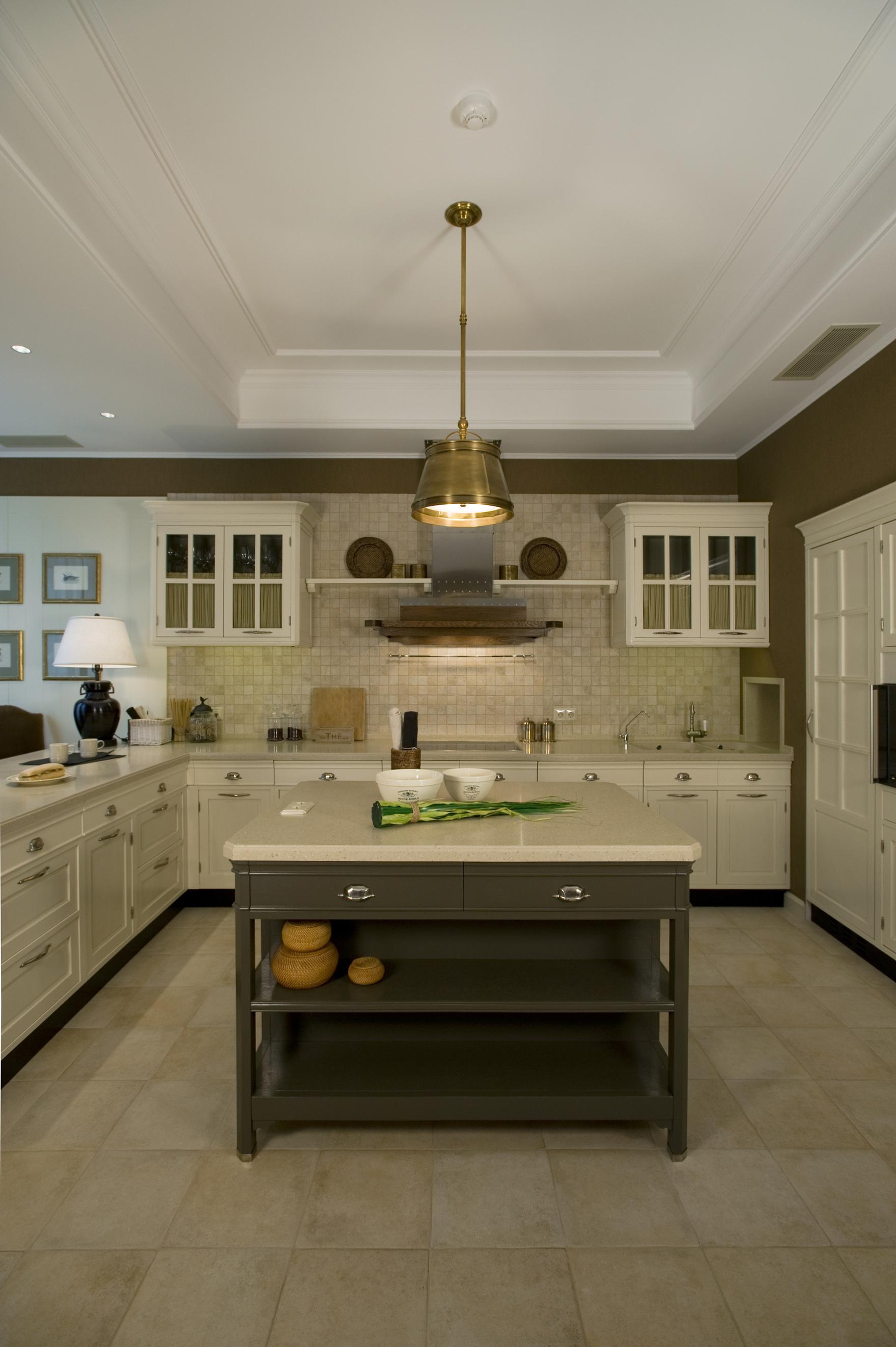 Фото № 40061 кухня  Загородный дом