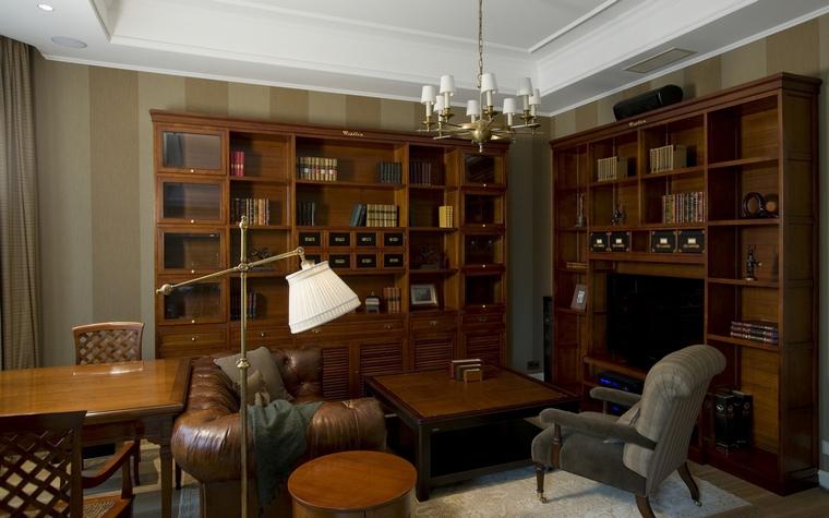Фото № 40049 гостиная  Загородный дом