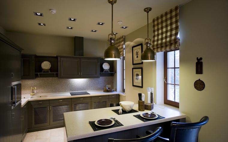 Фото № 40064 кухня  Загородный дом