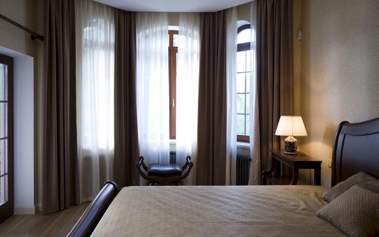 Фото № 40070 спальня  Загородный дом