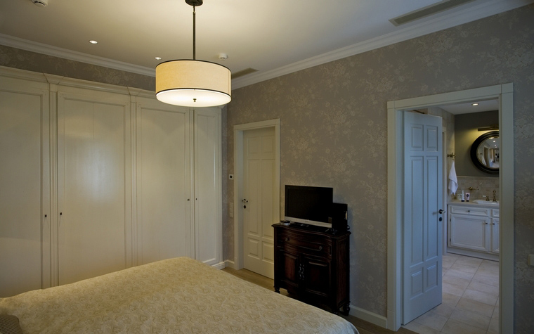 Фото № 40068 спальня  Загородный дом