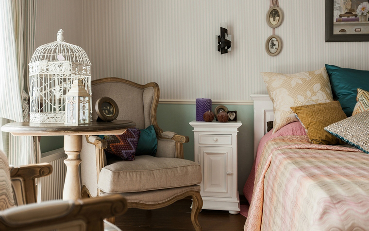 интерьер спальни - фото № 40130