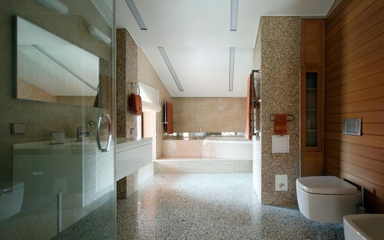 Фото № 40192 ванная  Загородный дом