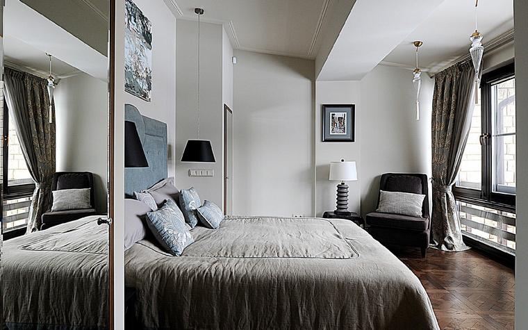 Фото № 40264 спальня  Загородный дом