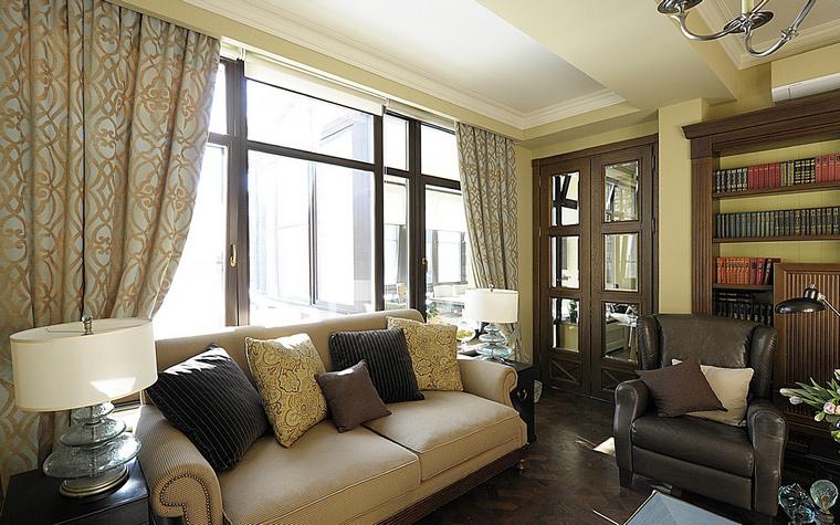 интерьер гостиной - фото № 40262