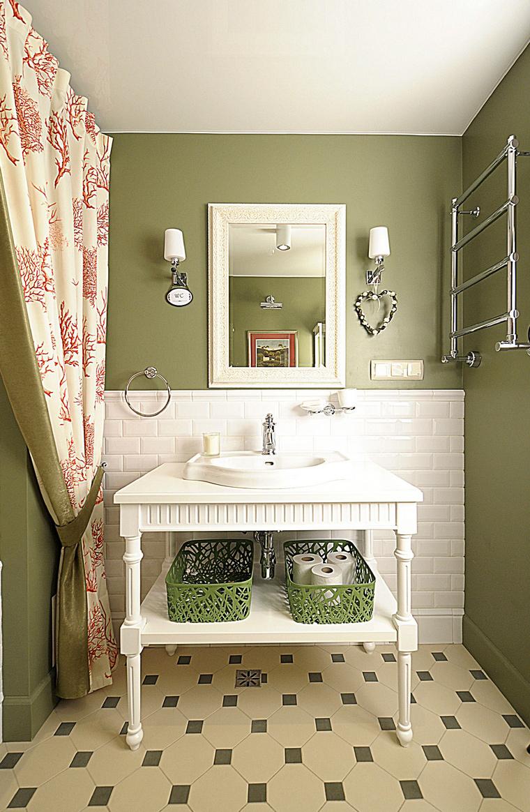 Фото № 40269 ванная  Загородный дом