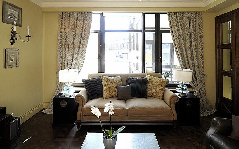 интерьер гостиной - фото № 40263
