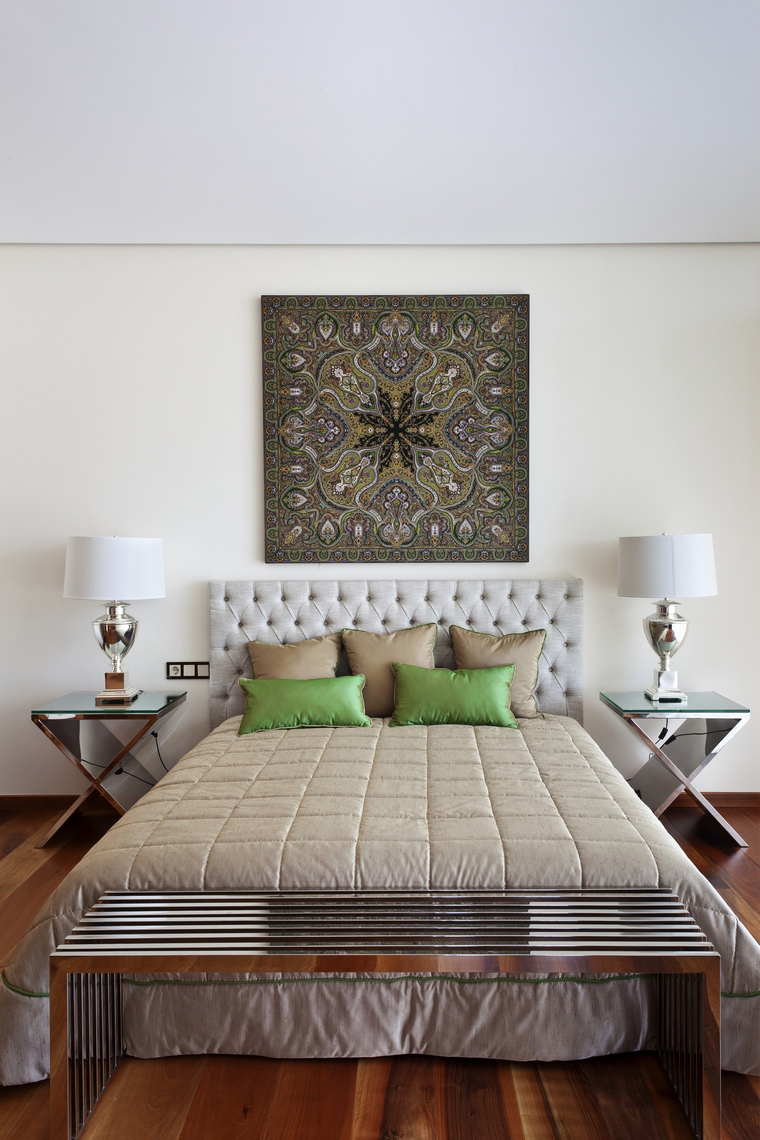 интерьер спальни - фото № 47124