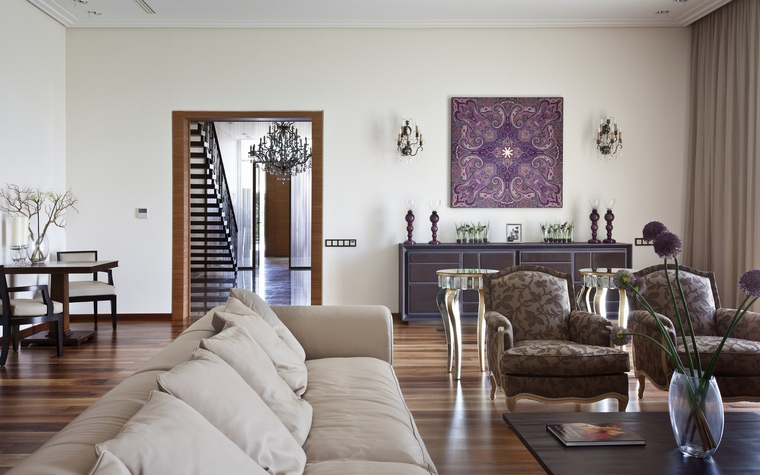 интерьер гостиной - фото № 47128