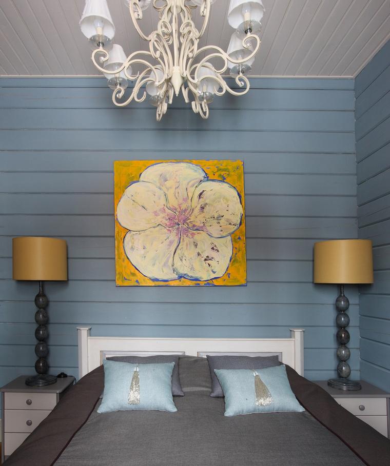 интерьер спальни - фото № 40381