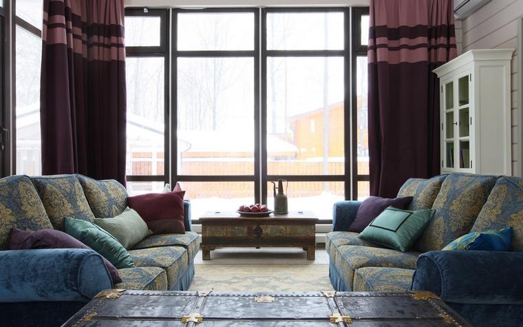 интерьер гостиной - фото № 40374