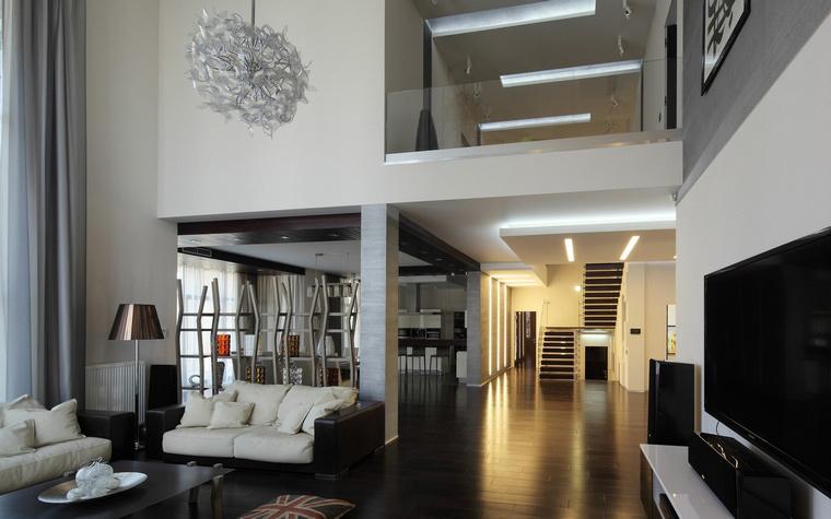 интерьер гостиной - фото № 40499