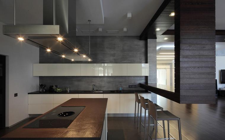 Фото № 40507 кухня  Загородный дом