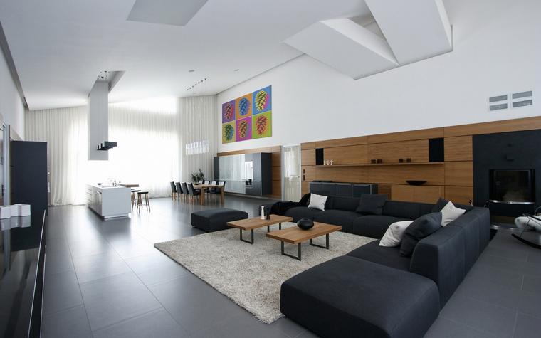 интерьер гостиной - фото № 40765