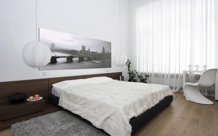 интерьер спальни - фото № 40772